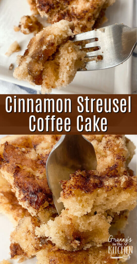 moist cinnamon sugar coffee cake