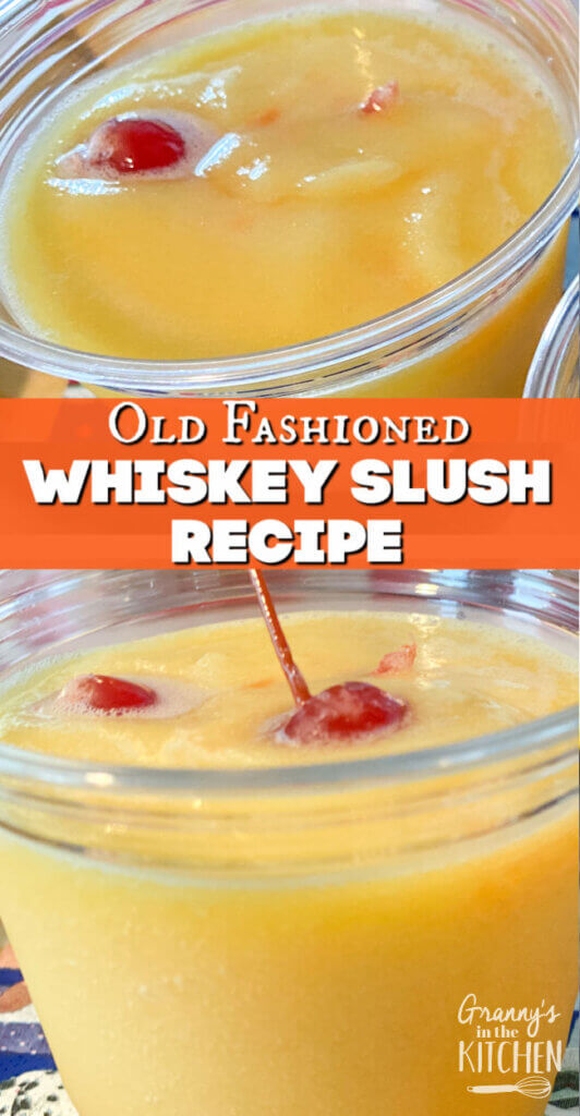 frozen whiskey sour drink